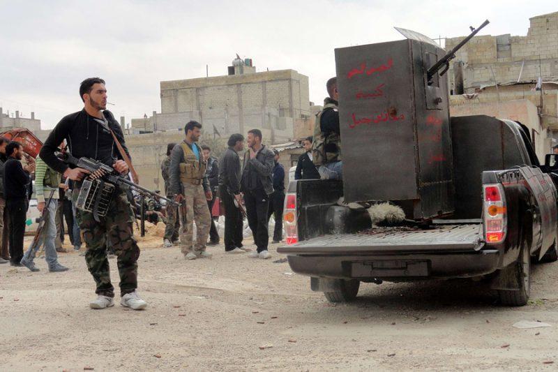 Сирийские войска отразили вторжение боевиков из Турции и Ливана