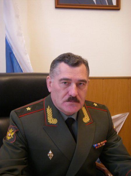 Начальник войск ПВО Сухопутных войск генерал-майор Александр ЛЕОНОВ.