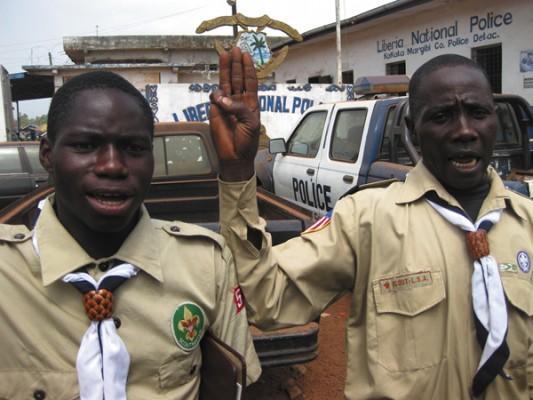 Либерийские скауты
