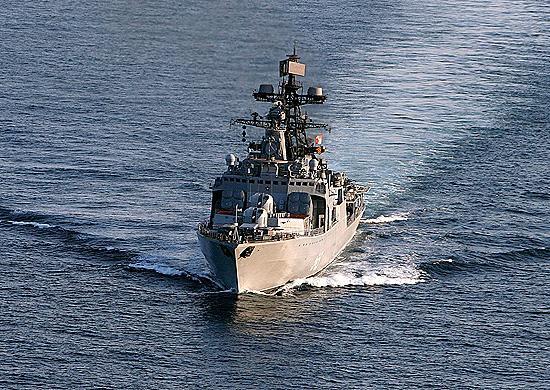 Корабли Тихоокеанского флота возвращаются во Владивосток после океанских учений