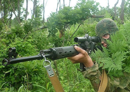 В Восточном военном округе определены лучшие снайперы