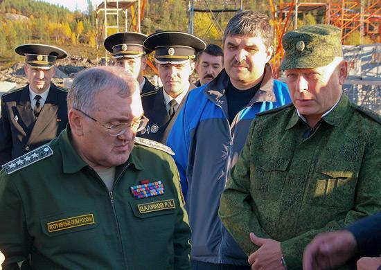 Заместитель Министра обороны РФ Руслан Цаликов посетил Северный флот