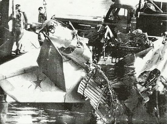 Подъем самолета из озера Штессен, Германия,7.04.1966 г.