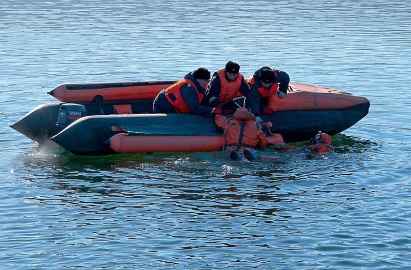 тренинг спасательная лодка