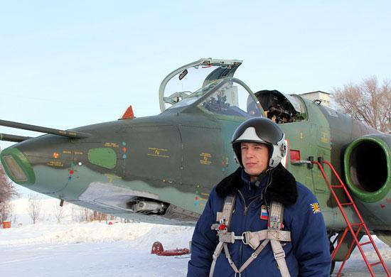 Звено штурмовиков Су-25 завершило перебазирование на российскую авиационную базу «Кант» в Киргизской Республике