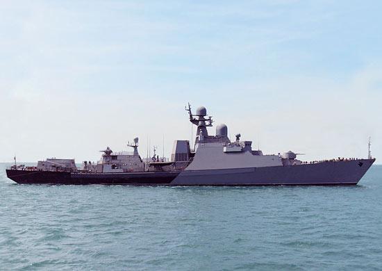 На Каспийской флотилии прошло учение по противовоздушной обороне