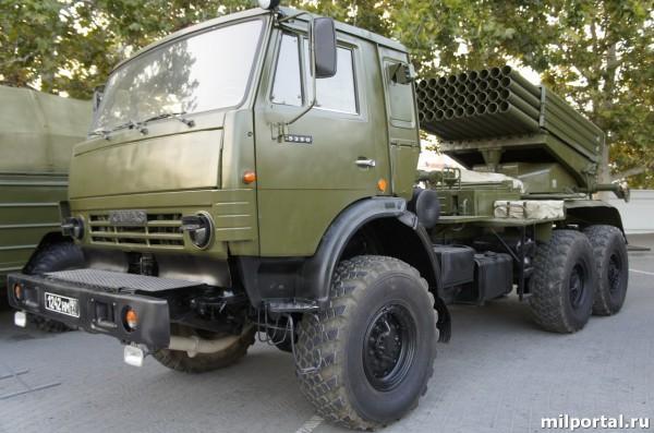 122 мм система залпового огня «ГРАД»