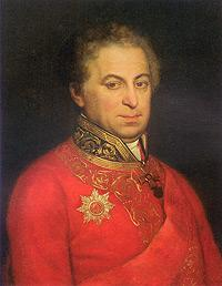 Портрет генерала П.Л. Батюшкова. Неизвестный художник.