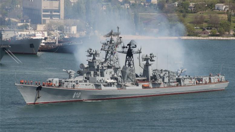 В Севастополь вернулся сторожевой корабль (СКР) «Сметливый»