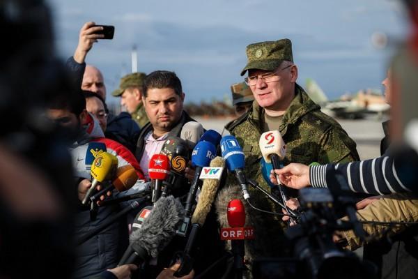 Начальник Управления пресс-службы и информации Министерства обороны РФ, генерал-майор И.Е.Конашенков