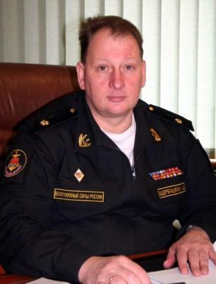 Командир Балтийской военно-морской базы контр-адмирал Александр ЩЕРБИЦКИЙ