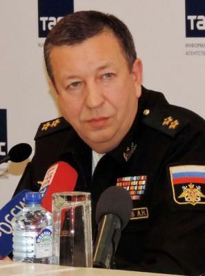 Заместитель главнокомандующего ВМФ России вице-адмирал Александр ФЕДОТЕНКОВ