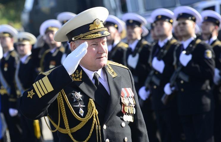 Адмирал Владимир Королев © Лев Федосеев/ТАСС, архив .