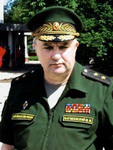 Начальник ракетных войск и артиллерии Вооружённых Сил РФ  генерал-лейтенант Михаил МАТВЕЕВСКИЙ