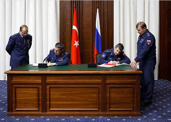 Консультации делегаций Вооруженных Сил Российской Федерации и вооруженных сил Турецкой Республики