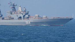БПК «Адмирал Трибуц» и танкер «Борис Бутома» прибыли в порт Майдзуру