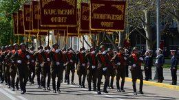 Парад войск Севастопольского гарнизона