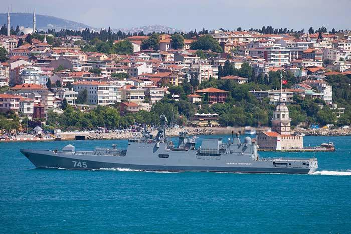 Фрегат Черноморского флота «Адмирал Григорович»