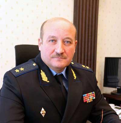 Начальник Пограничного управления ФСБ России по Республике Крым генерал-лейтенант Юрий Звирык
