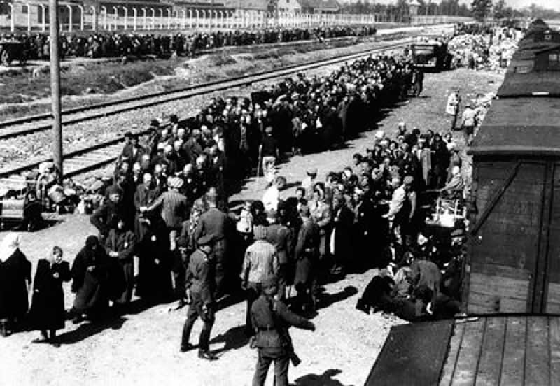 Концлагерь Освенцим.