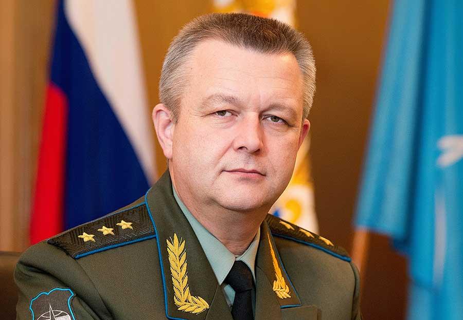 Командующий Космическими войсками генерал-полковник Александр Головко