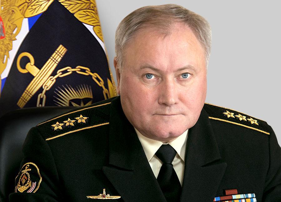 Главнокомандующий Военно-морским флотом России адмирал Владимир КОРОЛЁВ