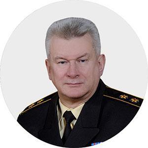 Командующий Северным флотом вице-адмирал  Николай ЕВМЕНОВ