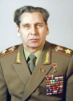 Маршал Советского Союза Н.В. Огарков