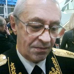 Вице-адмирал Александр Побожий, председатель совета ветеранов Соловецких юнг, заместитель начальника Главного штаба ВМФ России с 1997 по 2007г.