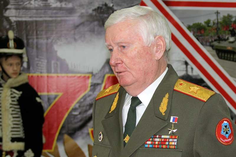 Герой России генерал армии Александр Баранов