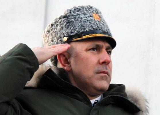 Командующий Второй общевойсковой армией Герой России генерал-майор Рустам Мурадов