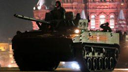 Сегодня в Москве состоится первая вечерняя тренировка военного парада на Красной площади