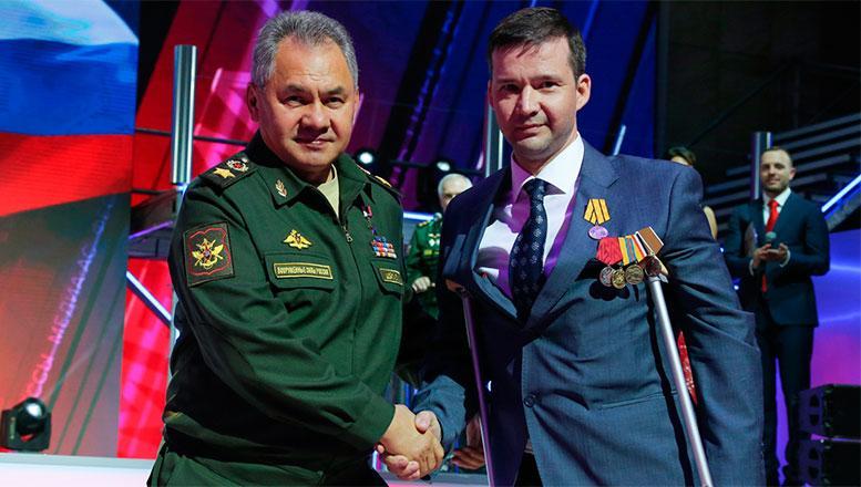Министр обороны России генерал армии Сергей Шойгу наградил победителей Всероссийского фестиваля прессы «Медиа-Ас-2018»