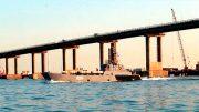Боевые корабли Черноморского флота вошли в воды Азовского моря