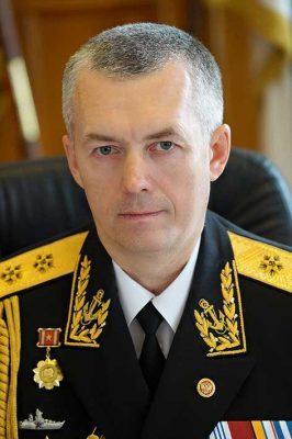 Командующий Балтийским флотом вице-адмирал Александр НОСАТОВ.