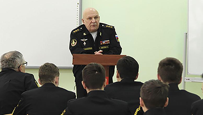 Командующий Тихоокеанским флотом посетил Владивостокский филиал Нахимовского военно-морского училища
