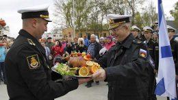 Балтийский флот отмечает 315-ю годовщину со дня основания