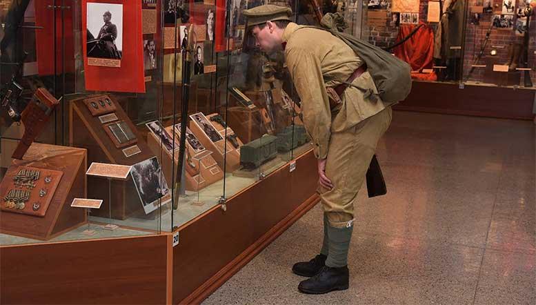 В Центральном музее ВС РФ открыли три новых зала по случаю 100-летия революции