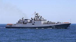 Фрегат Черноморского флота «Адмирал Эссен» покинул порт Лимасол