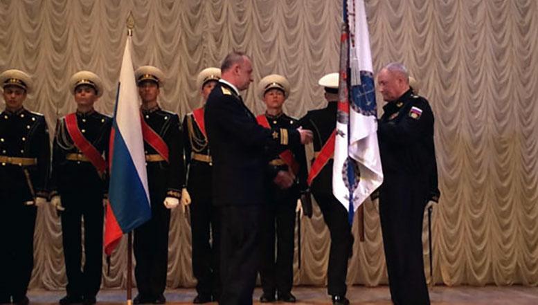 Главком ВМФ России в Санкт-Петербурге представил нового начальника Нахимовского военно-морского училища