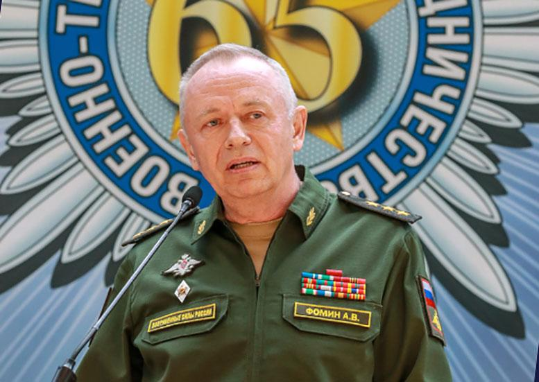 15 мая заместитель Министра обороны Российской Федерации генерал-полковник Александр Фомин выступил на торжественном приеме перед военными атташе и дипломатическими сотрудниками в связи с 65-летием системы ВТС