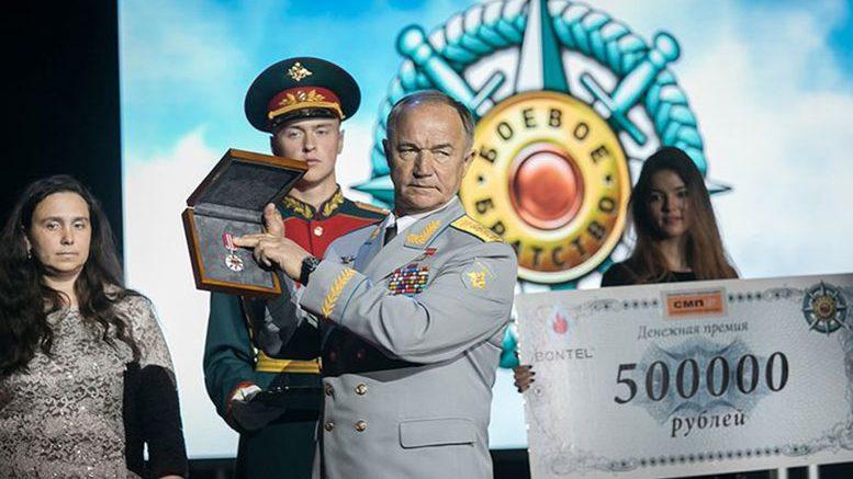 Генерал-полковник Валерий Востротин на вручении наград.
