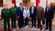 В Военной академии Генерального штаба Вооруженных Сил России открылась выставка, посвященная защитникам Отечества