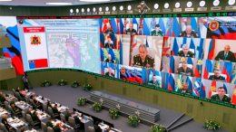 Министр обороны провел селекторное совещание с руководством Вооруженных Сил