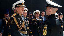 В Санкт-Петербурге состоялась торжественная церемония 70-го юбилейного выпуска Нахимовского военно-морского училища