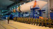 Пуск ракеты среднего класса «Союз-2.1Б» со спутником «Глонасс-М» с космодрома Плесецк