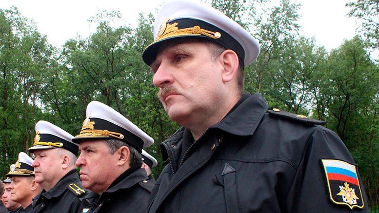 На Северном флоте прошла акция «Свеча памяти», посвящённой Дню памяти и скорби