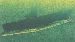 Моряки Балтийского флота обнаружили в Финском заливе затонувшую подводную лодку времен Великой Отечественной войны