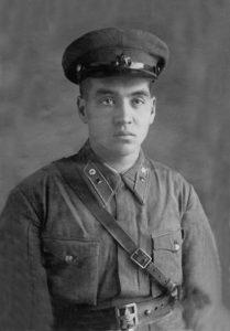 М.А. Гареев в 1941 году.