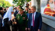 В Лефортово открылась тематическая экспозиция «Окна мужества»